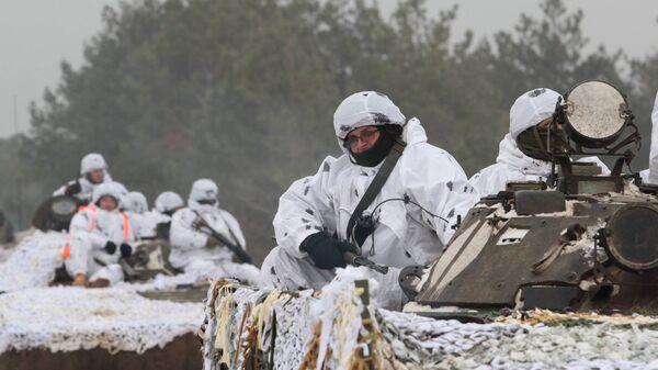 Сборы резервистов армии Украины