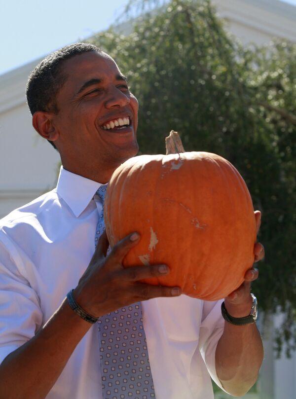 Кандидат в президенты США Барак Обама во Флориде