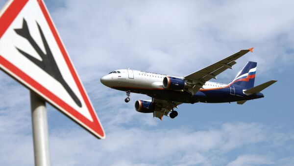 Пассажирский самолет Airbus A319 авиакомпании Аэрофлот. Архив