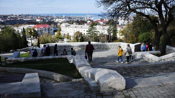 Открытие мемориального комплекса Малахов курган после реконструкции