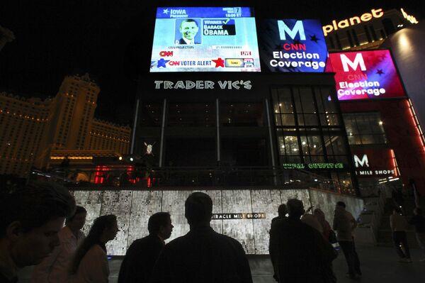 Барак Обама победил на президентских выборах в США