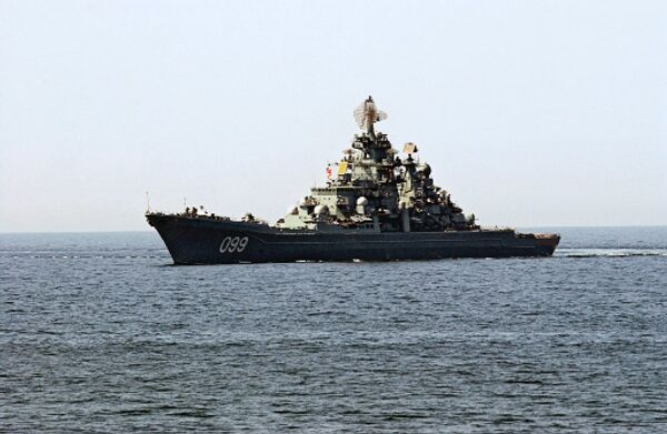 Тяжёлый атомный ракетный крейсер Северного флота Пётр Великий