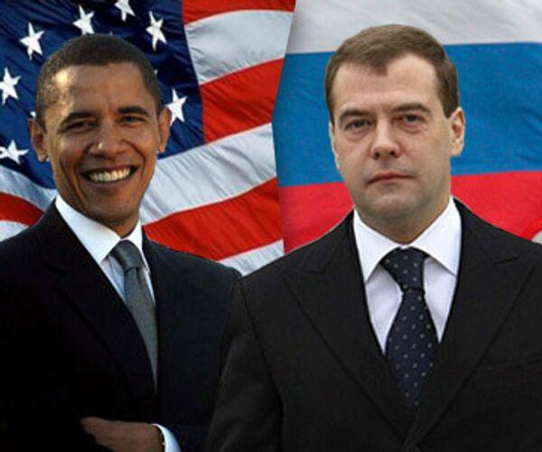 Барак Обама и Дмитрий Медведев проведут в Нью-Йорке двусторонние переговоры