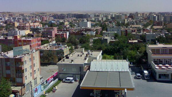 Город Батман. Турция
