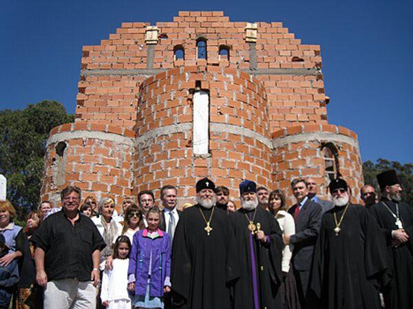 Русский храм откроется в Аргентине в 2009
