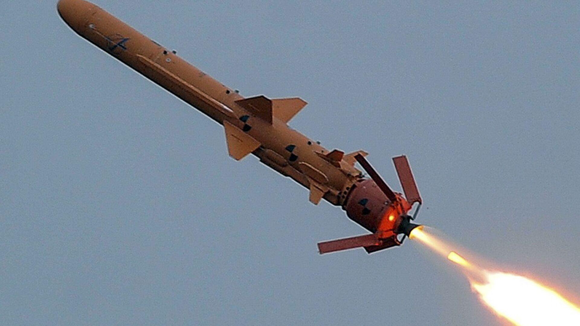 Испытание ракетного комплекса С-125 на полигоне в Одесской области - РИА Новости, 1920, 31.05.2020