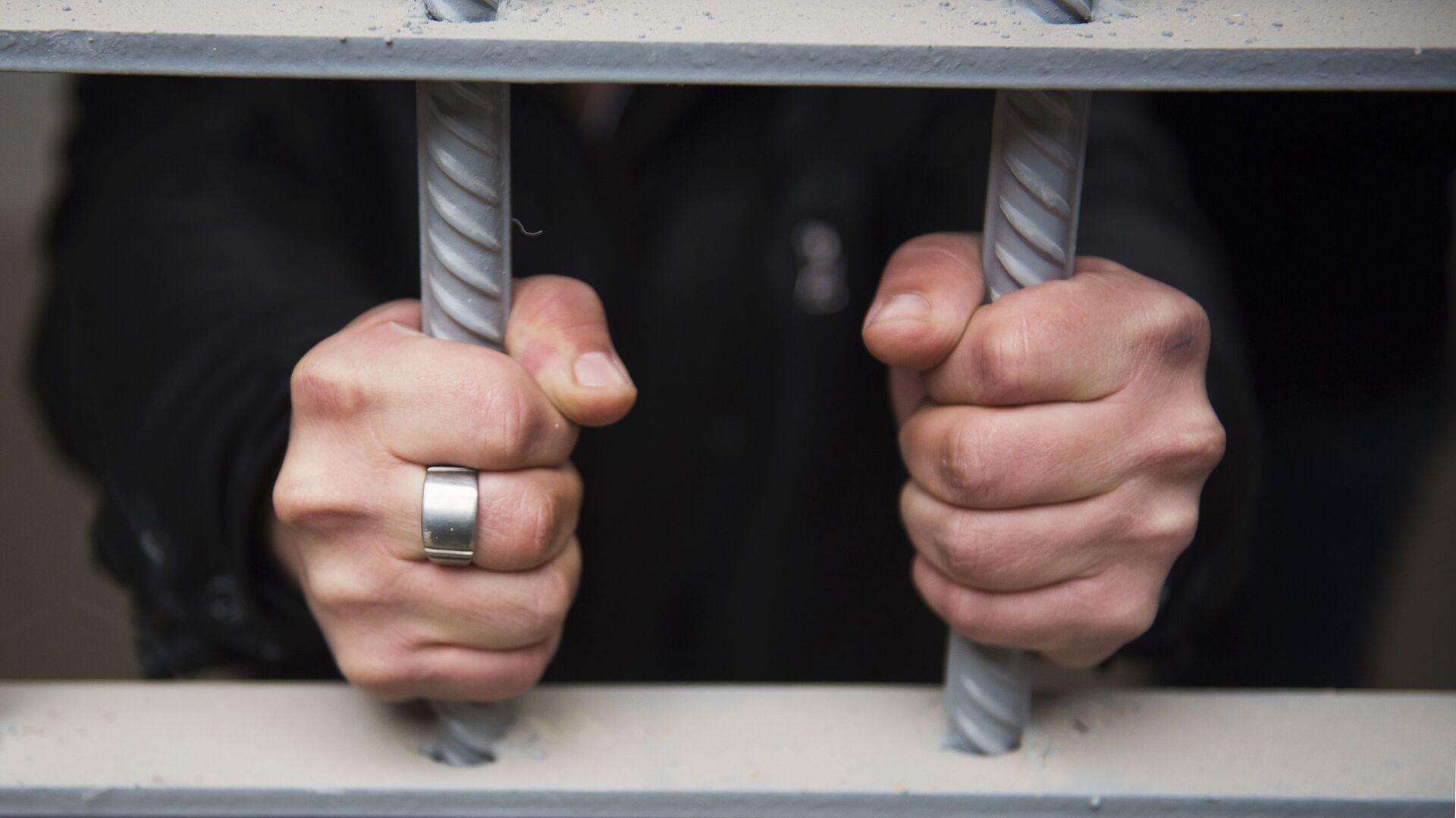 Заключенный в исправительной колонии - РИА Новости, 1920, 04.06.2021