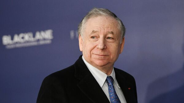 Президент Международной автомобильной федерации (FIA) Жан Тодт