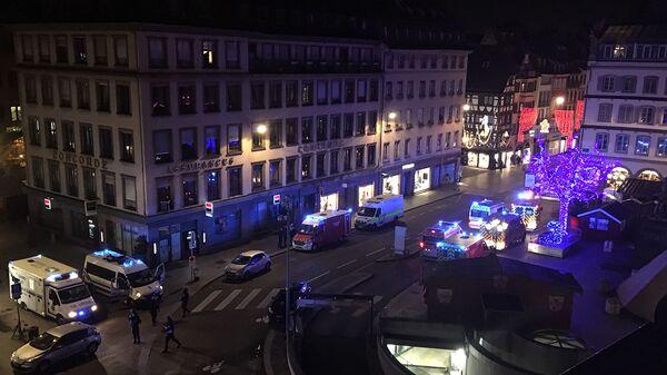 Экстренные службы после стрельбы в Страсбурге. 11 декабря 2018