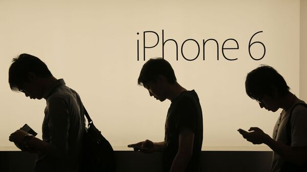 Продажи смартфонов Apple iPhone в Гонконге