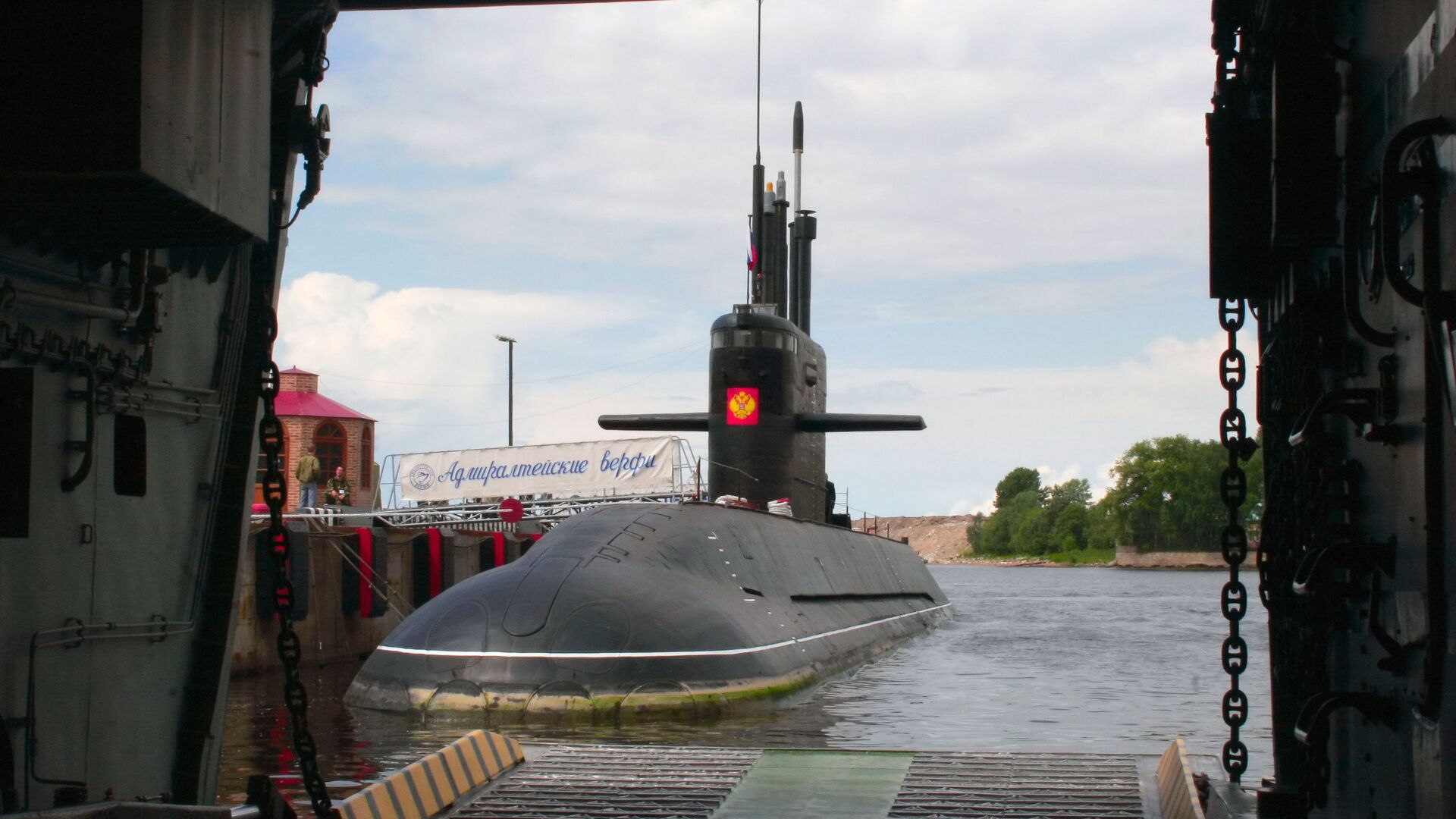 Подводная лодка Санкт-Петербург, проект Лада - РИА Новости, 1920, 13.05.2021
