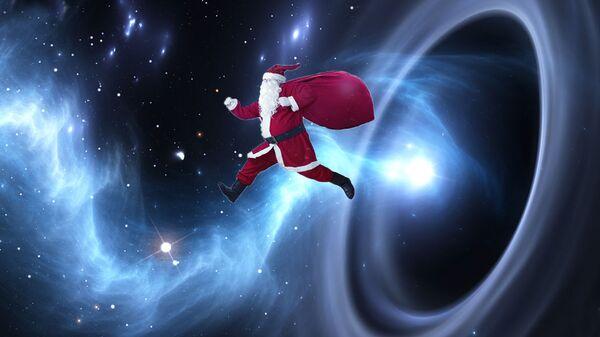 Перемещение Деда Мороза в пространстве
