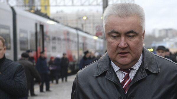 Начальник Свердловской железной дороги Алексей Миронов