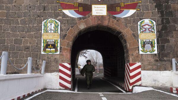 Российская военная база в Гюмри