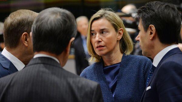 Верховный представитель Европейского союза по иностранным делам и политике безопасности Европейского Союза Федерика Могерини