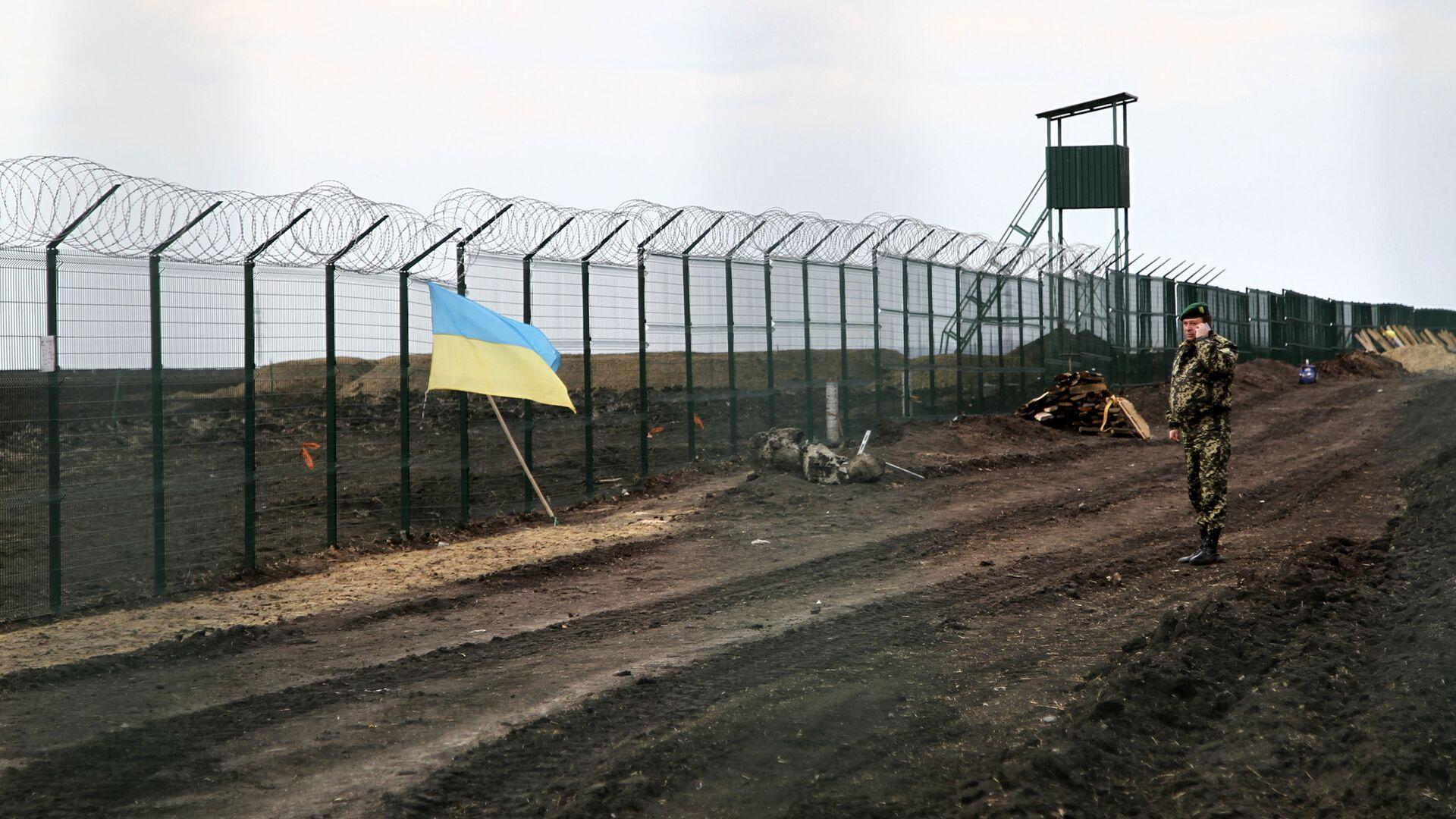 Граница Украины и России - РИА Новости, 1920, 02.06.2021