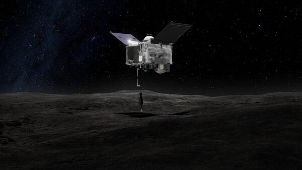 Американская межпланетная станция OSIRIS-REx, предназначенная для доставки образцов грунта с астероида (101955) Бенну