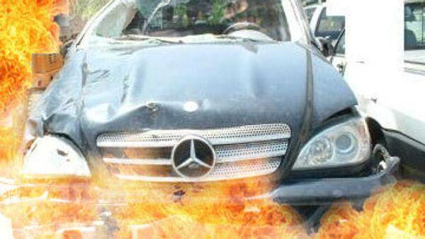 Банка со сработавшей в Сочи бомбой стояла на капоте автомобиля