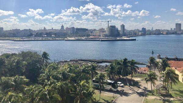 Вид на Гавану, Куба