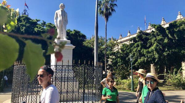 Туристы в Гаване, Куба