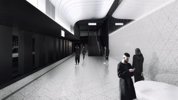 Станция метро Москвы Кленовый бульвар