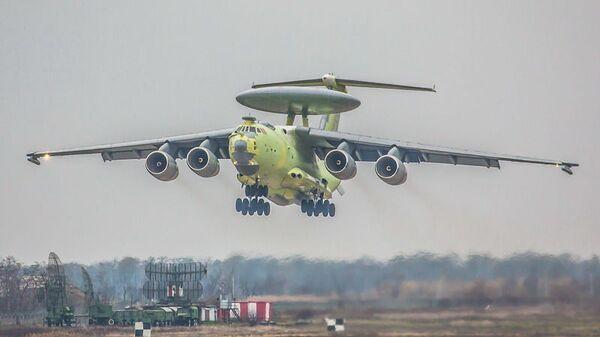 Российский самолет дальнего радиолокационного обнаружения и управления A-100