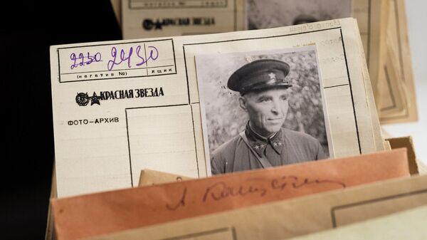 Контакты с негативов, снятых фотокорреспондентами газеты Красная звезда во время боевых действий в период Великой Отечественной войны 1941-1945 годов