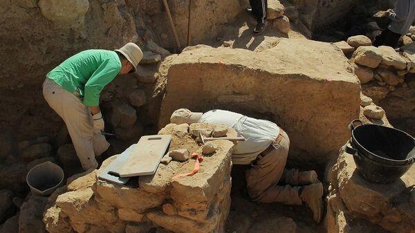 Раскопки в Телль-эль-Хаммам на месте предполагаемого местонахождения городов Содома и Гоморры