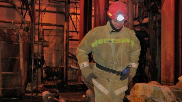 Спасательные работы на шахте Уралкалия в Пермском крае