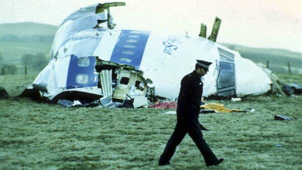 Обломки самолета в Локерби, 1988 год