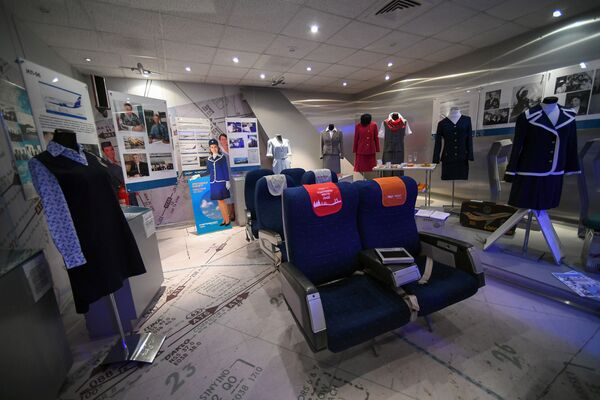 Музей Аэрофлота в аэропорту Шереметьево