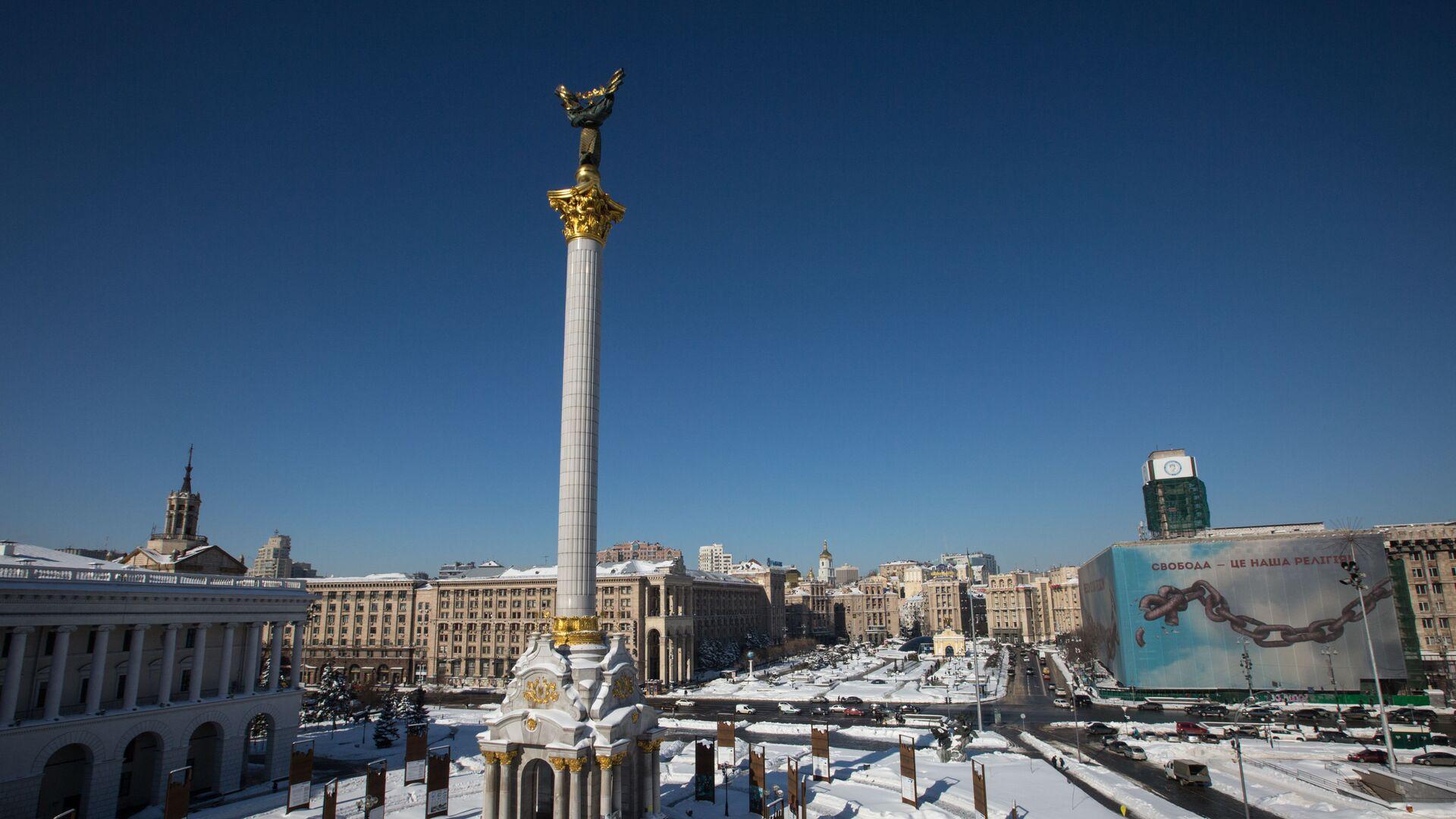 Площадь Независимости в Киеве - РИА Новости, 1920, 19.02.2021