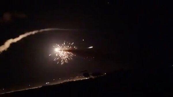 Сирийские ПВО отражают ракетный удар по Дамаску