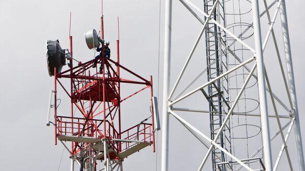 Монтаж вышек сотовой связи в Томской области