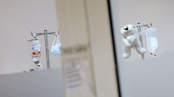 Капельница в детской больнице