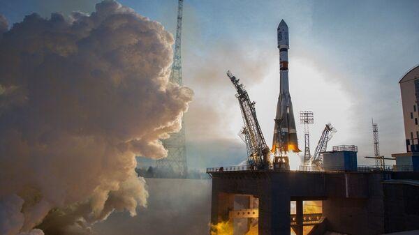 Пуск ракеты-носителя «Союз-2.1а» с космодрома Восточный