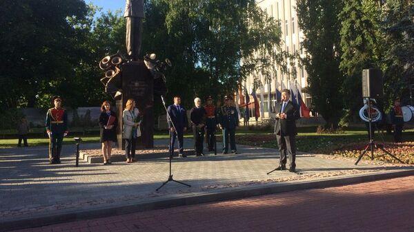 Открытие памятника военному дирижеру, генерал-лейтенанту Валерию Халилову в Тамбове