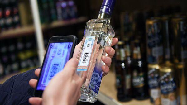Рейд по выявлению контрафактного алкоголя