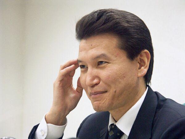 Президент Калмыкии Кирсан Илюмжинов. Архив