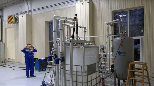 Испытания собственного ракетного двигателя в компании КосмоКурс
