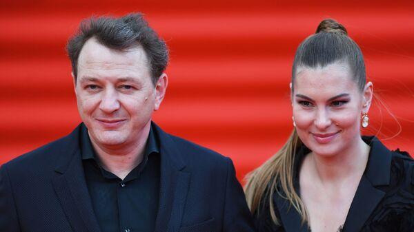 Актер Марат Башаров и Елизавета Шевыркова