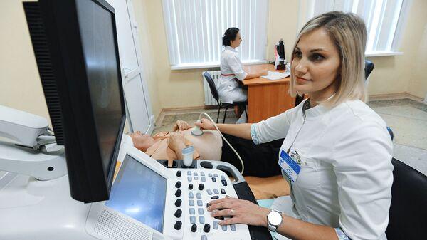 Проведение ультразвукового исследования