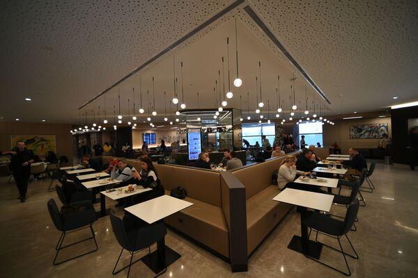 Бизнес-зал «Кандинский» в терминале B аэропорта Шереметьево