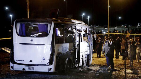 Взрыв в Египте. 28.12.2018