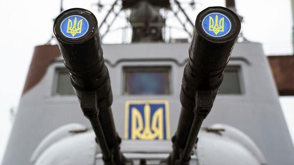 Корабль береговой охраны Украины