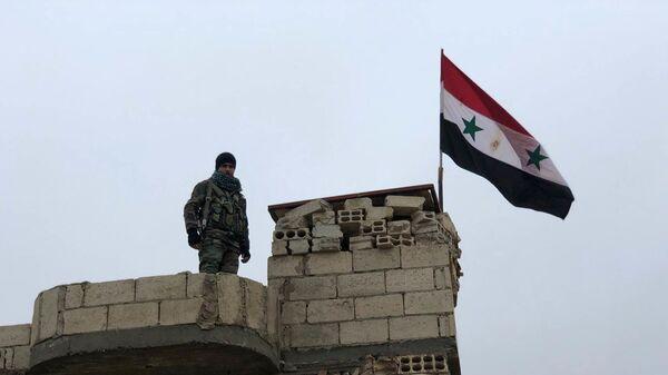 Армия Сирии закрепилась вдоль западной границы района Манбидж