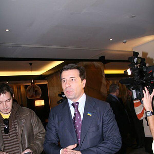 Председатель временной следственной комиссии по изучению обстоятельств поставок Украиной оружия в Грузию Валерий Коновалюк