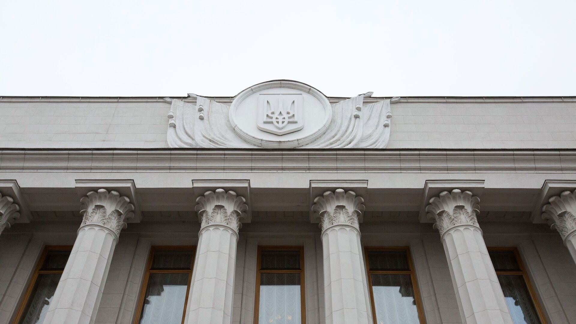 Здание Верховной рады Украины в Киеве - РИА Новости, 1920, 29.03.2021