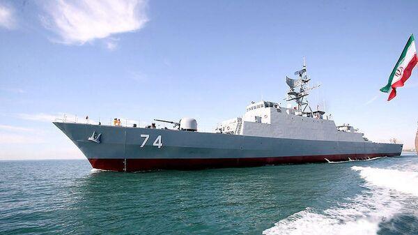 Эсминец Саханд ВМС Исламской Республики Иран