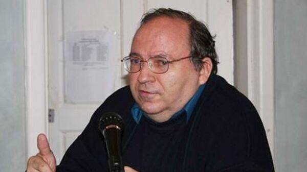 Российский писатель Николай Лисовой